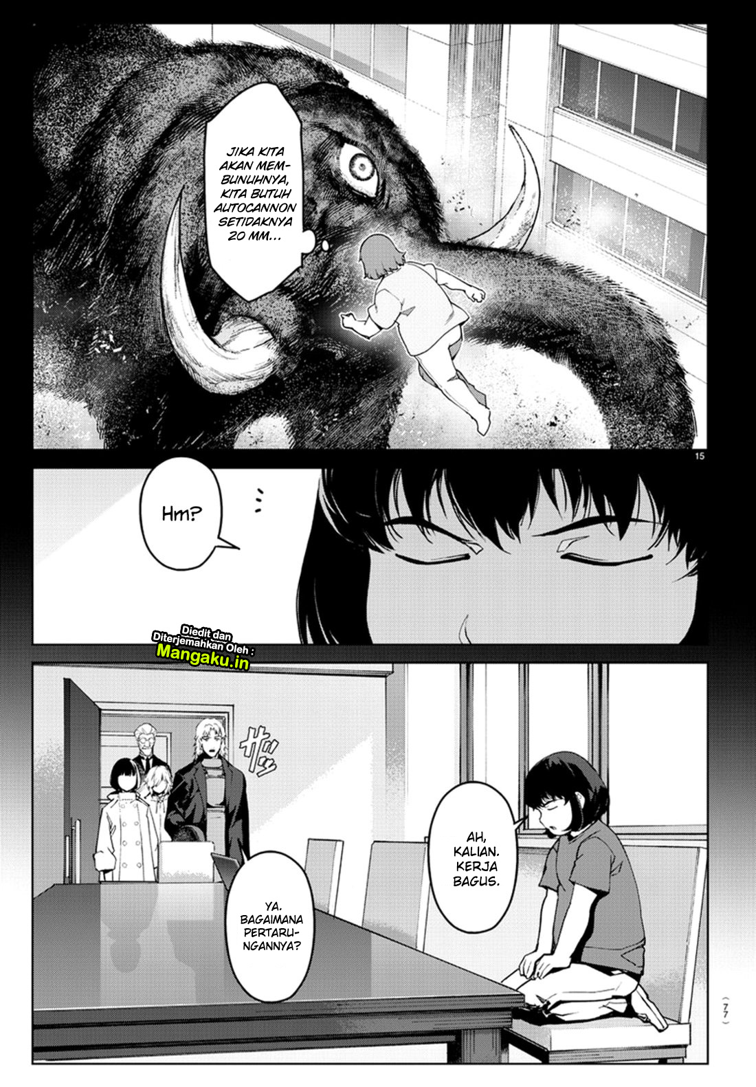 Darwin's Game Chapter 71-17