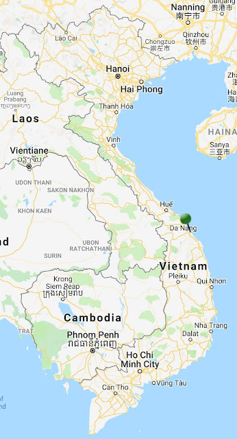 pin point map hoi an vietnam