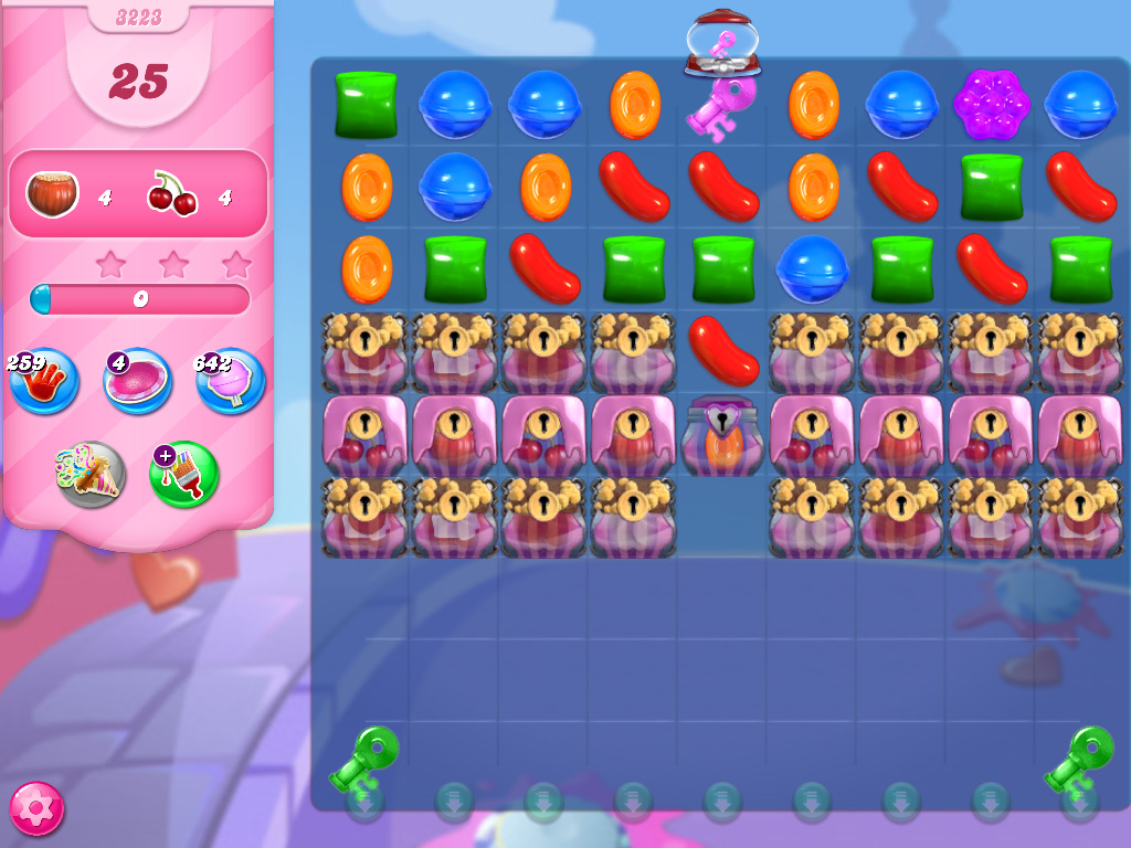 Candy Crush Saga level 3223