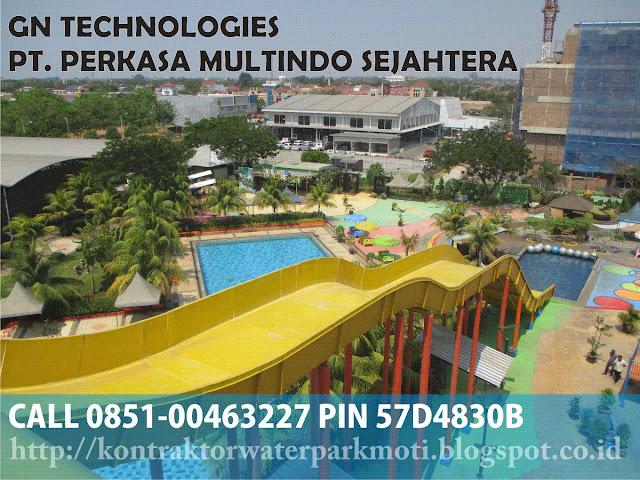 kontraktor waterpark, waterboom, kolam renang, kolam arus, tornado slide, wave slide