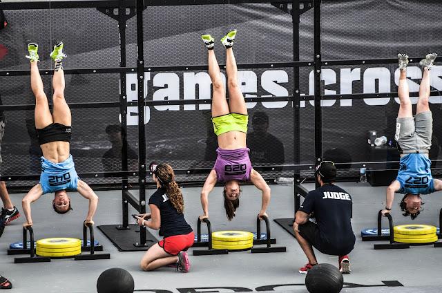 Las competiciones de crossfit, deporte y salud