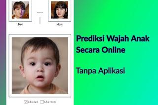Cara Prediksi Wajah Bayi Online Tanpa Aplikasi B612 Foto Anak Masa Depan