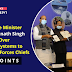 Defence Minister Shri Rajnath Singh hands over DRDO systems to Armed Forces Chiefs: Key points