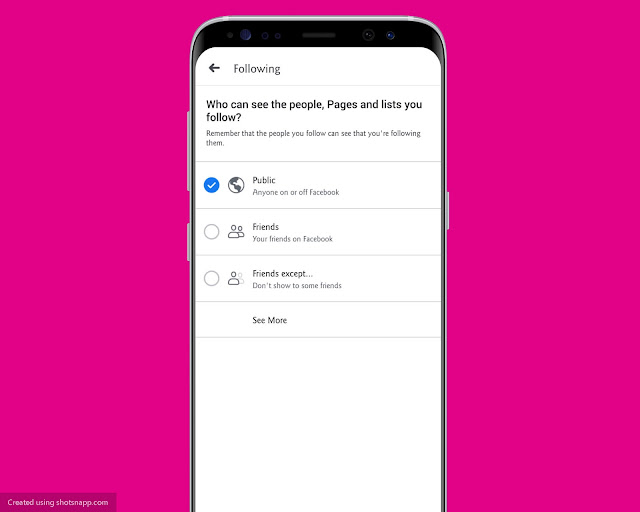 Edit Privacy - Facebook Features, Tips And Tricks