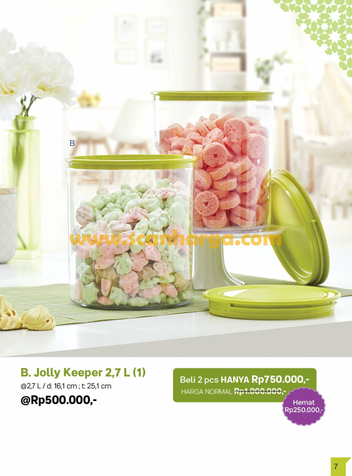 Promo Tupperware Bulan April