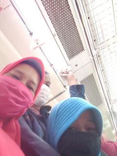 aturan pakai masker commuter line