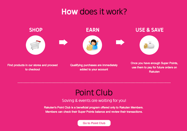 Shop, Earn and Save with Rakuten's Super Points