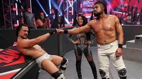 WWE Raw Tag Team Andrade Angel Garza