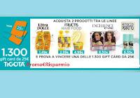 Concorso : Vinci 1.300 card Tigotà da 25€ con Ultra Dolce Garnier, Hair Food, Excellence e Ritocco Perfetto