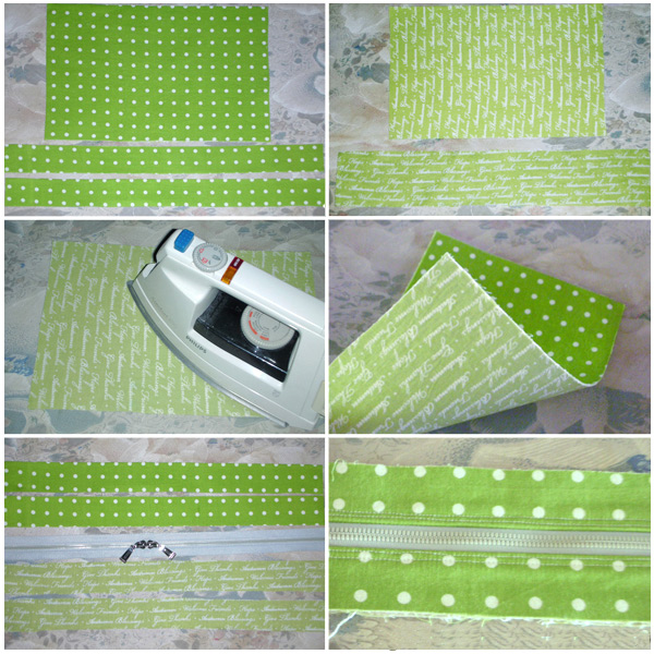 Multi-functional Bag / Bankbook Pouch. Sewing Pattern and Tutorial