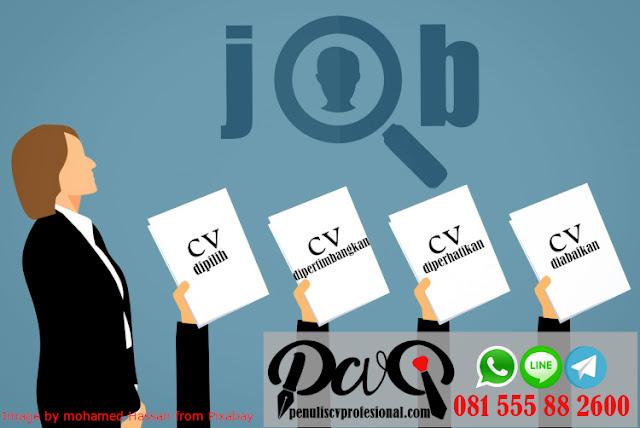4 Tingkat Pencari Kerja Berdasar Kualitas Curriculum Vitae