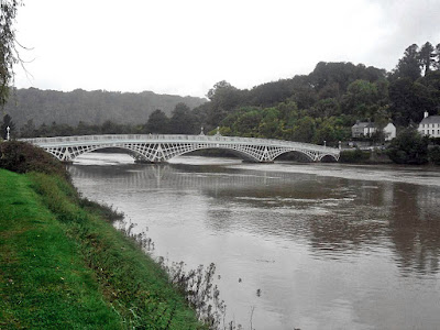 Chepstow Bridge on the River Wye
