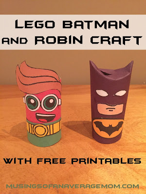 Lego Batman Crafts