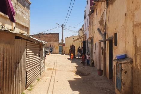 """""""دوار البوليسي"""" يتجرع مرارة التهميش اليومي ضواحي الدار البيضاء"""