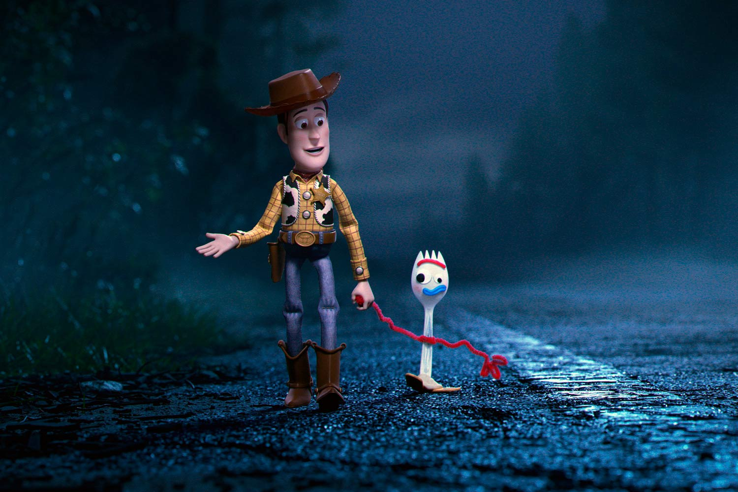 Toy Story 4 - Woody y Forky
