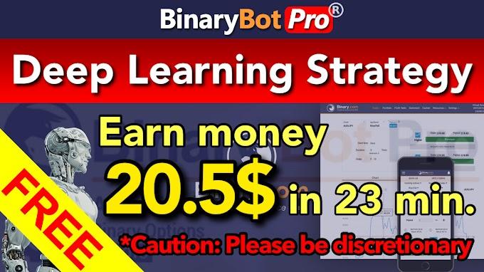 Deep Learning Strategy | Binary Bot Pro