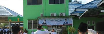 Upacara Peringatan Hari Santri Nasional di Halaman Kantor Kementerian Agama Kota Tarakan