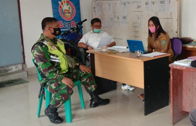 Monitoring Wilayah Dilakukan Personel Jajaran Kodim 0207/Simalungun Kepada Warga Binaan