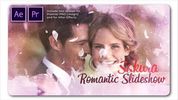 Sakura Wedding Cinematic Slideshow
