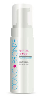 Stubborn Tan Is Now A Thing of The Past Thanks to Iconic Bronze's New Self-Tan Eraser - Foaming Cleanser