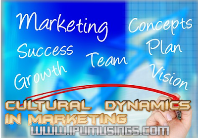 MBA BBA - Marketing - Cultural Dynamics in Marketing (#bbanotes)(#ipumusings)