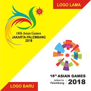 logo Asian Games 2018 baru HD PNG