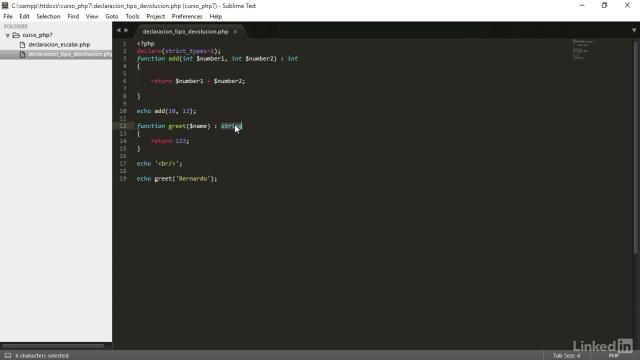Novedades PHP 7 curso 2