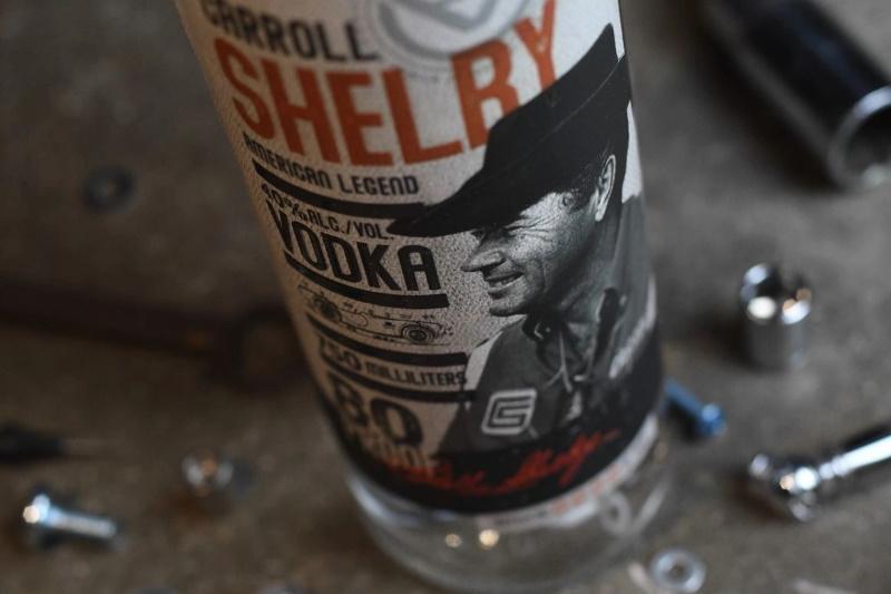 Carroll Shelby Premium Bourbon Whiskey and Vodka