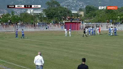 Νίκη Βόλου Καλαμάτα 2-2 τελικό....