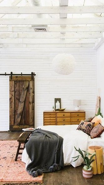boho bedroom decor idea