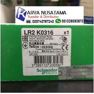 Jual Perangkat Listrik Overload Scehneider LR2K0316-8-11 di Banyumas