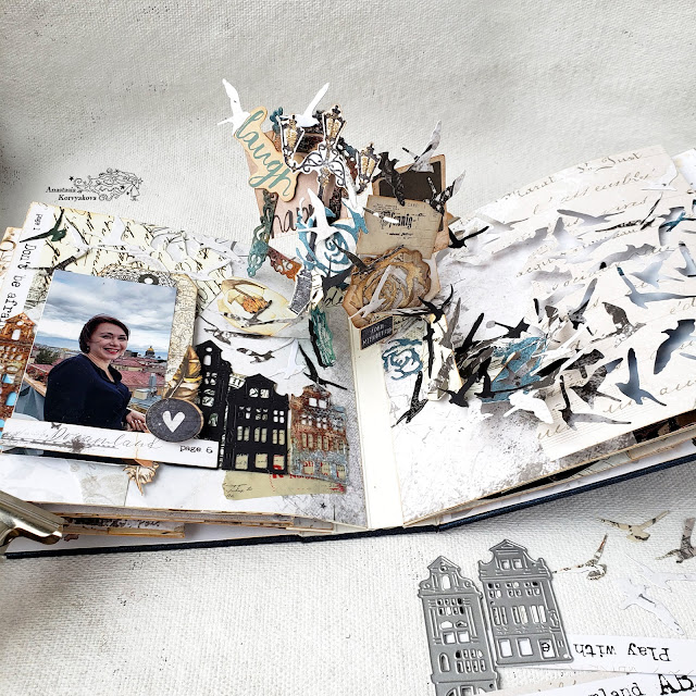 @nastyalena #album #papercraft #scrapbookindies