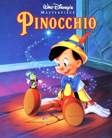 Poster Of Pinocchio 1940 In Hindi Bluray 720P Free Download