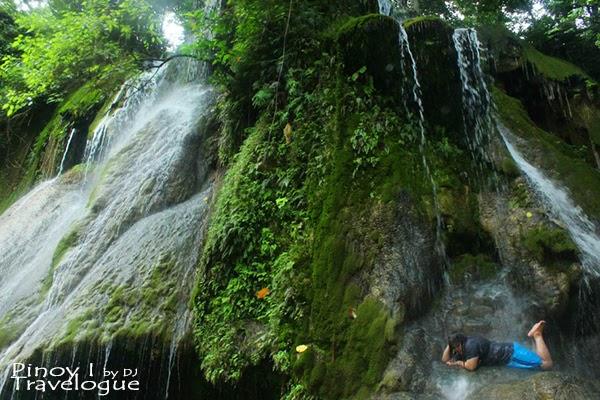 Verdant walls of Batlag Falls