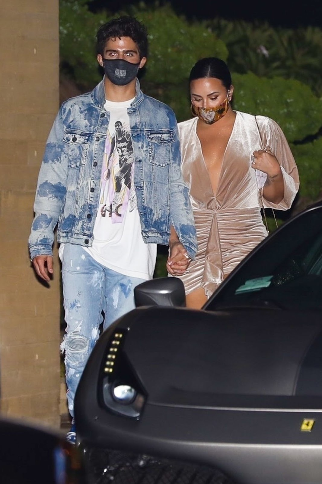 Demi Lovato Enjoys Romantic Malibu Date Night with Fiancé Max Ehrich Following Engagement