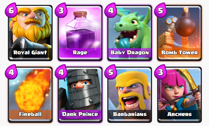 Best Clash Royale Decks, Best Arena 7 Deck, Arena 7 Deck