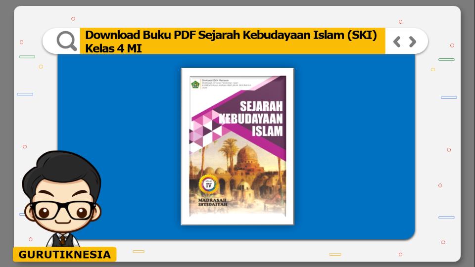 download buku pdf ski sejarah kebudayaan islam kelas 4 mi