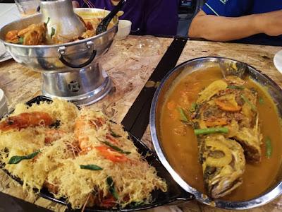 Dinner Bertiga Di Kawd Johor Bahru