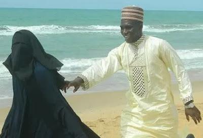 muslim couple prewedding photos