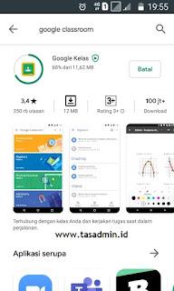 Download install google classroom