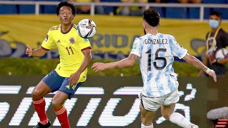 ملخص مباراة الارجنتين وكولومبيا اليوم