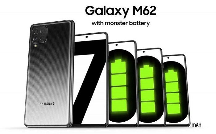 Samsung Galaxy M62 with 7,000 mAh Battery For Only RM1,599