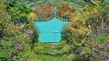 Jardín de Monet Marmottan en la Villa de Kitagawa