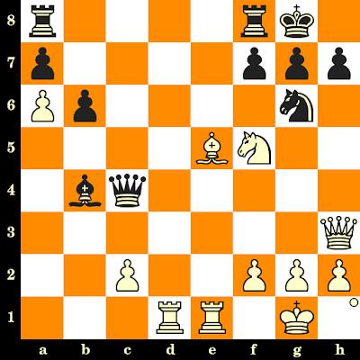 Les Blancs jouent et matent en 3 coups - Vasilios Kotronias vs Daniel King, New York, 1990