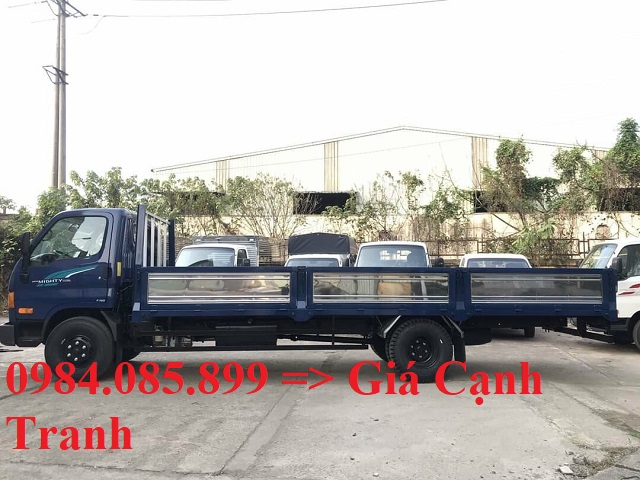 Giá lăn bánh xe tải HD110XL thùng lửng