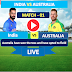 1ST One Day Match :  India vs Australia - 14 Jan, India is bating first .
