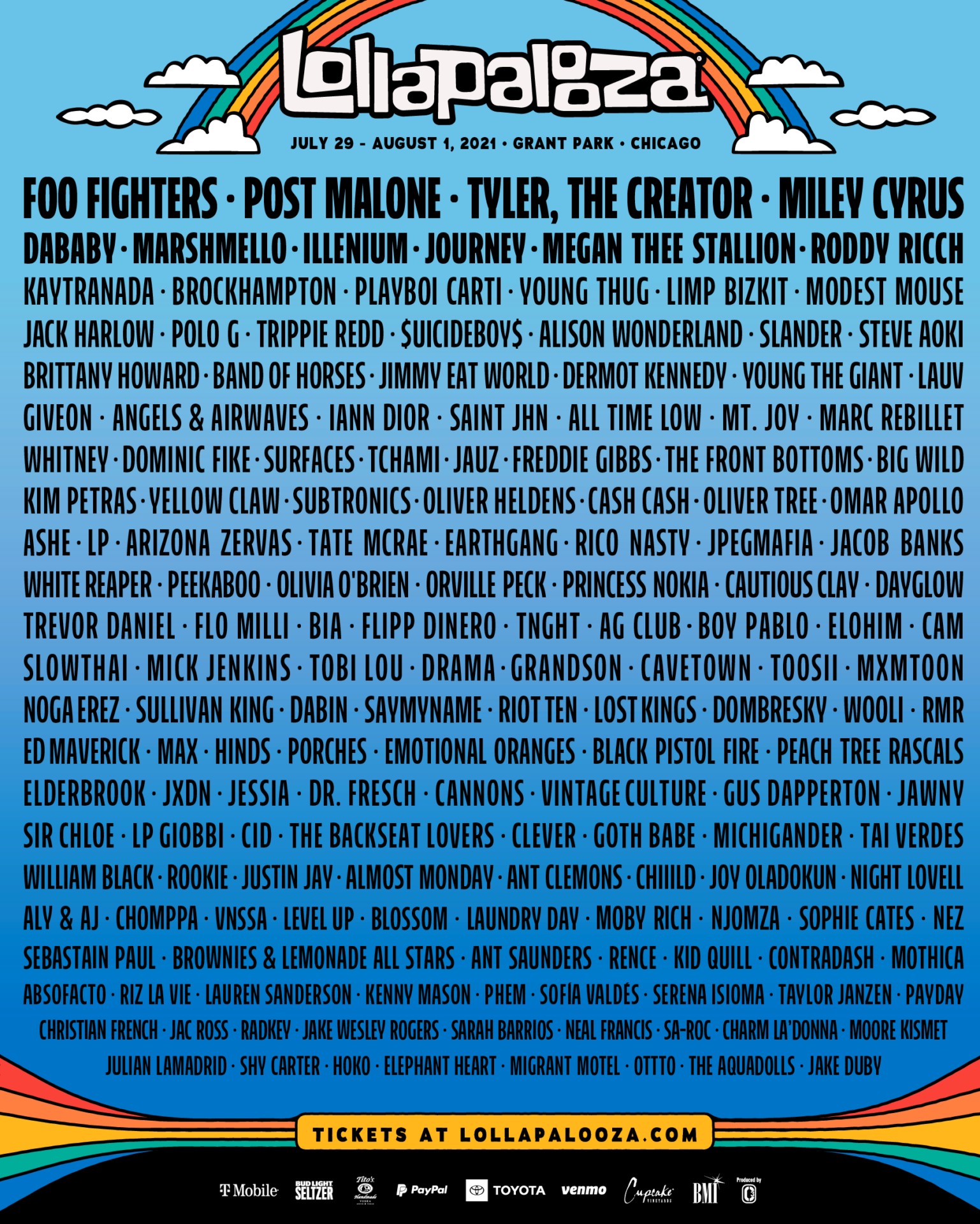 Lollapalooza 2021 Chicago