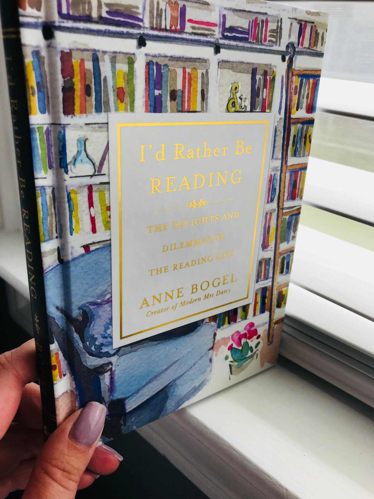 Be Review I'd And Rather Of Delights Reading Dilemmas The Life Anne Reading Bogel By