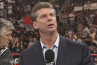 WWF -  Unforgiven 1998: In Your House 21 - Mr. McMahon looking perplexed