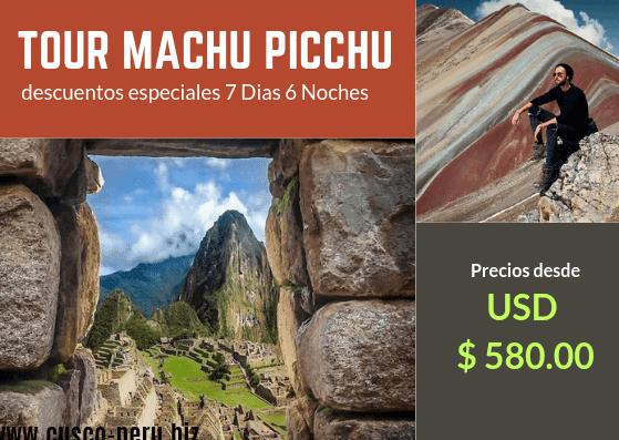 Oferta Tours Machu Picchu